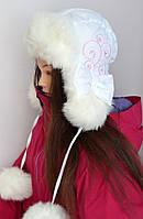 Детская зимняя шапка Алина р52 и р.54, фото 1