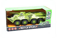 Машинка игрушечная автопром «БРДМ» Салатовый 9629, фото 1