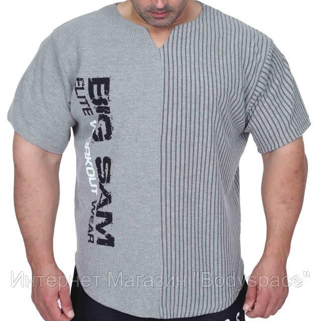 Big Sam, Размахайка Relaxed Fit Training T-Shirt Gray 3265