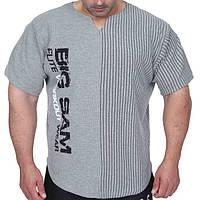 Big Sam, Размахайка Relaxed Fit Training T-Shirt Gray 3265, фото 1