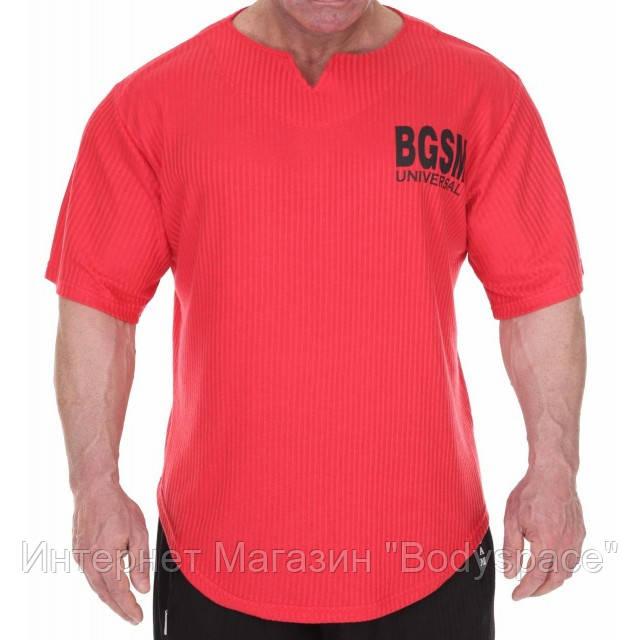Big Sam, Размахайка Mens Bodybuilding Training T-Shirt Red 3279