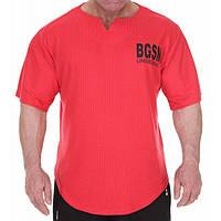 Big Sam, Размахайка Mens Bodybuilding Training T-Shirt Red 3279, фото 1