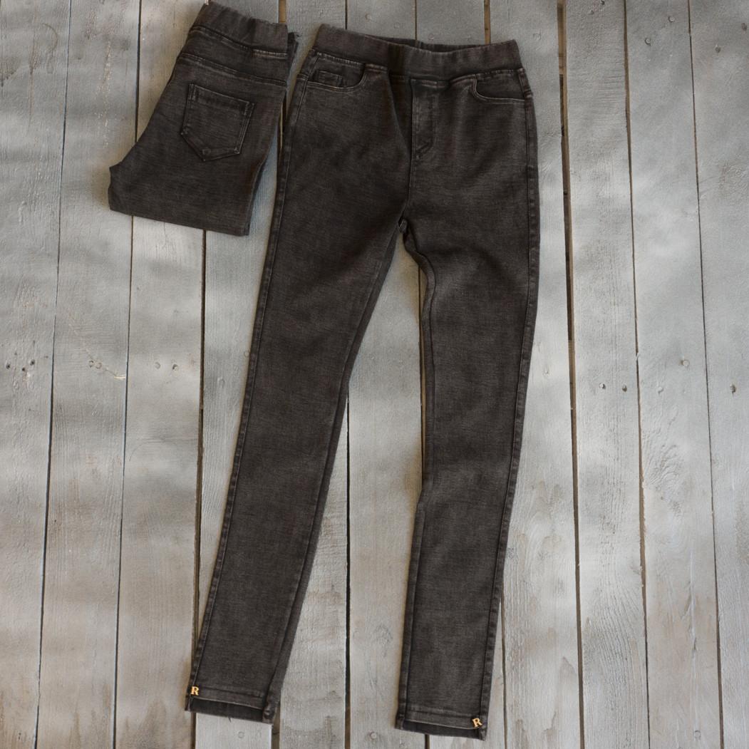 1936-2 темно-сірі XYH джеггінси літні стрейчеві (25-30, 6 од.)