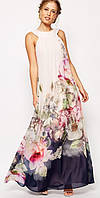 "Платье ""Hoya"" flowers"