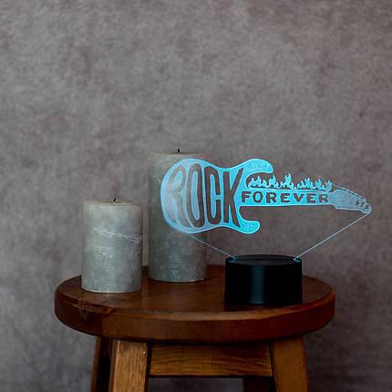 """3D світильник """"Гітара 3"""" 3DTOYSLAMP, фото 2"""