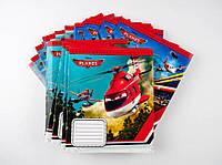 Комплект зошитів А5 Міцар скоба 18 арк лінія офсет Літаки Діснея 20 шт 249592, КОД: 902246
