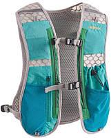 Рюкзак для бега трейла триатлона RIMIX бирюзовый