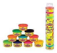 Набор пластилина Play-Doh массы для лепки, 10 баночек по 28 г. (22037)