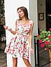"""Чудесное платье """"Пион"""", ткань: коттон-атлас. Размер:42-44.Разные цвета (2181), фото 2"""