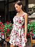 """Чудесное платье """"Пион"""", ткань: коттон-атлас. Размер:42-44.Разные цвета (2181), фото 4"""