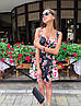"""Чудесное платье """"Пион"""", ткань: коттон-атлас. Размер:42-44.Разные цвета (2181), фото 6"""