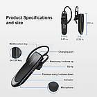 Bluetooth гарнитура Link Dream LC-B41 с функцией Multipoint. Блютуз гарнитура для водителя, фото 9