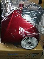 Вертикальный парогенератор отпариватель Liting Х7 (красный и серый)
