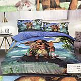 Комплект постельного белья детский  полуторный размер Байка ( Фланель), фото 2