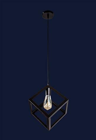 Светильник подвесной LOFT кубик LV 756PR200F-1 BK, фото 2