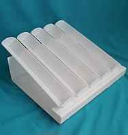 Подставка белая под пирожные макаронс