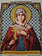 Набор для вышивки бисером ArtWork икона Святая Мученица Фотина (Светлана) VIA 5037, фото 2