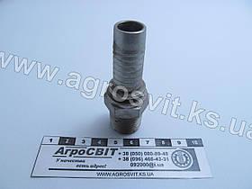 """Штуцер AGR-K 1/2""""-14  (под шланг dу=16 мм.)"""