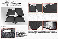 Audi Q7 резиновые коврики Stingray Premium