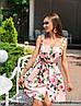 """Чудесное платье """"Пион"""", ткань: коттон-атлас. Размер:42-44.Разные цвета (2181), фото 7"""