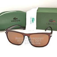Солнцезащитные очки Lacoste прямоугольные мужские Брендовые Стильные Модные 2020 Лакоста реплика