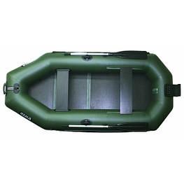 Надувная лодка Ладья ЛТ-240-СТ со слань-ковриком