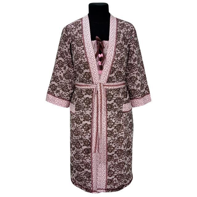 Комплект женский ночная и халат