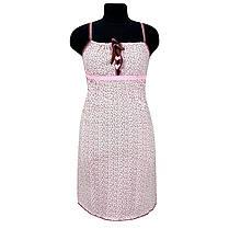 Комплект женский Ажур ночная рубашка и халат, фото 3