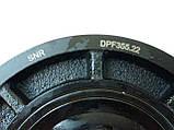 Ремінний шків колінчастого валу (6PK) на Renault Trafic 1.9 dCi з 2001... SNR (Франція) - DPF355.22, фото 6