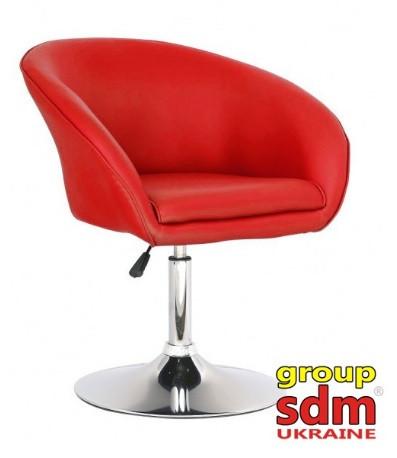 Кресло мастера Мурат красное на газлифте от SDM Group, экокожа