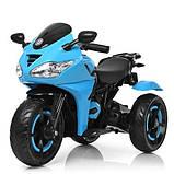 Мотоцикл детский электро мобиль Bambi 3683l, фото 2