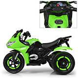 Мотоцикл детский электро мобиль Bambi 3683l, фото 6