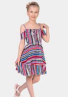 Красивое детское платье на лето в размерах 134-152