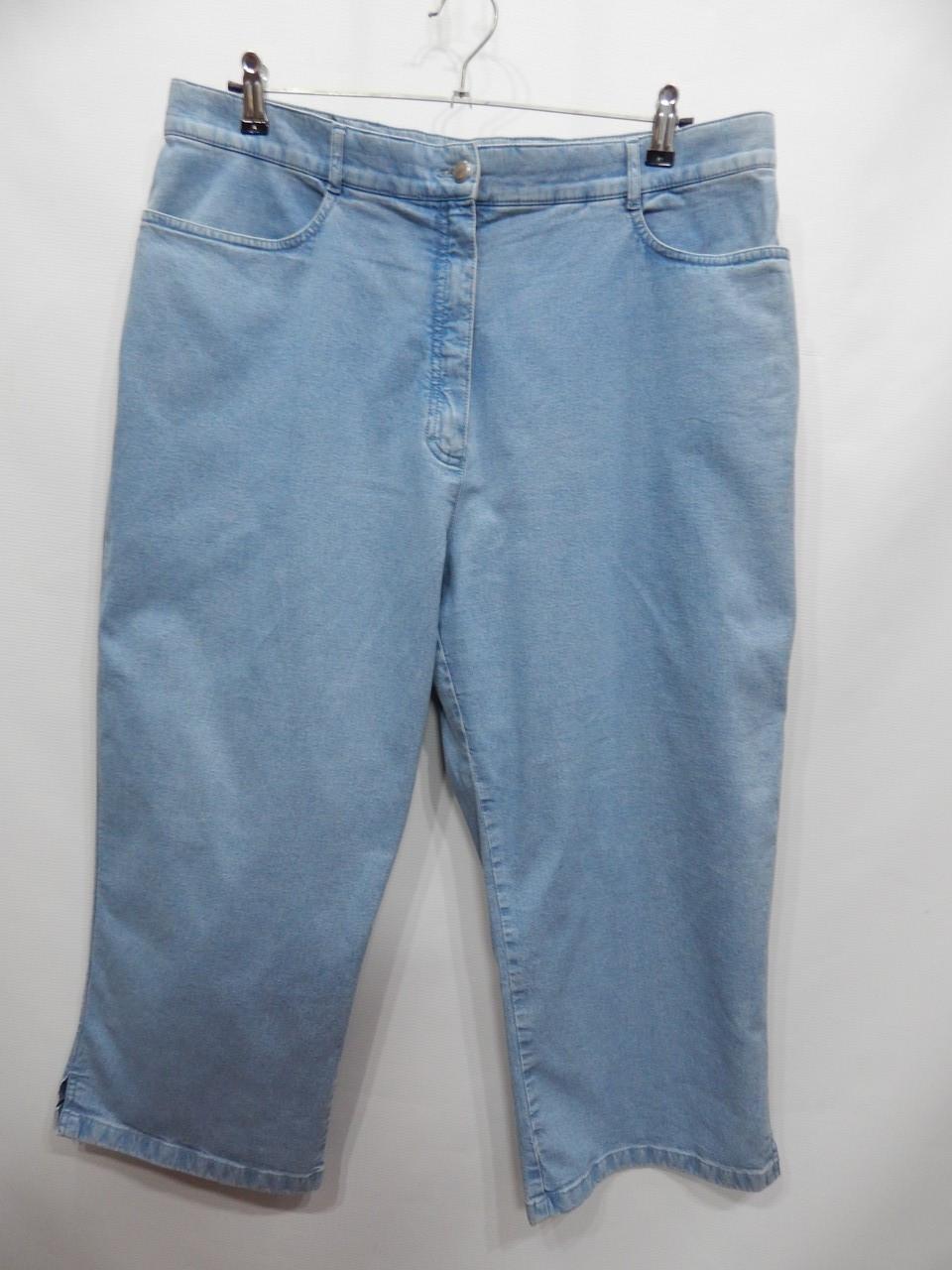 Бриджі жіночі джинсові cotton C&A р. 56-58 RUS, EUR (48) 032DGG
