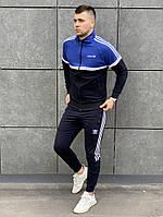 Мужской спортивный костюм Adidas. Олимпийка+штаны Адидас. ТОП качество!!! Реплика