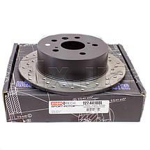 TOYOTA CAMRY 50 - Американка / Тормозной диск с насечками и перфорацией STOPTECH Premium Sport, фото 2