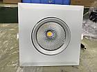 Поворотний LED світильник для підвісної стелі 30W downlight, фото 4