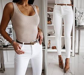 Зауженные женские летние брюки