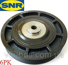 Ременной шкив коленчатого вала (6PK) на Renault Trafic / Opel Vivaro 1.9dCi (2001-2006) SNR (Франция) DPF35522