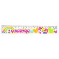 """Лінійка 20 см """"Magic unicorn"""""""