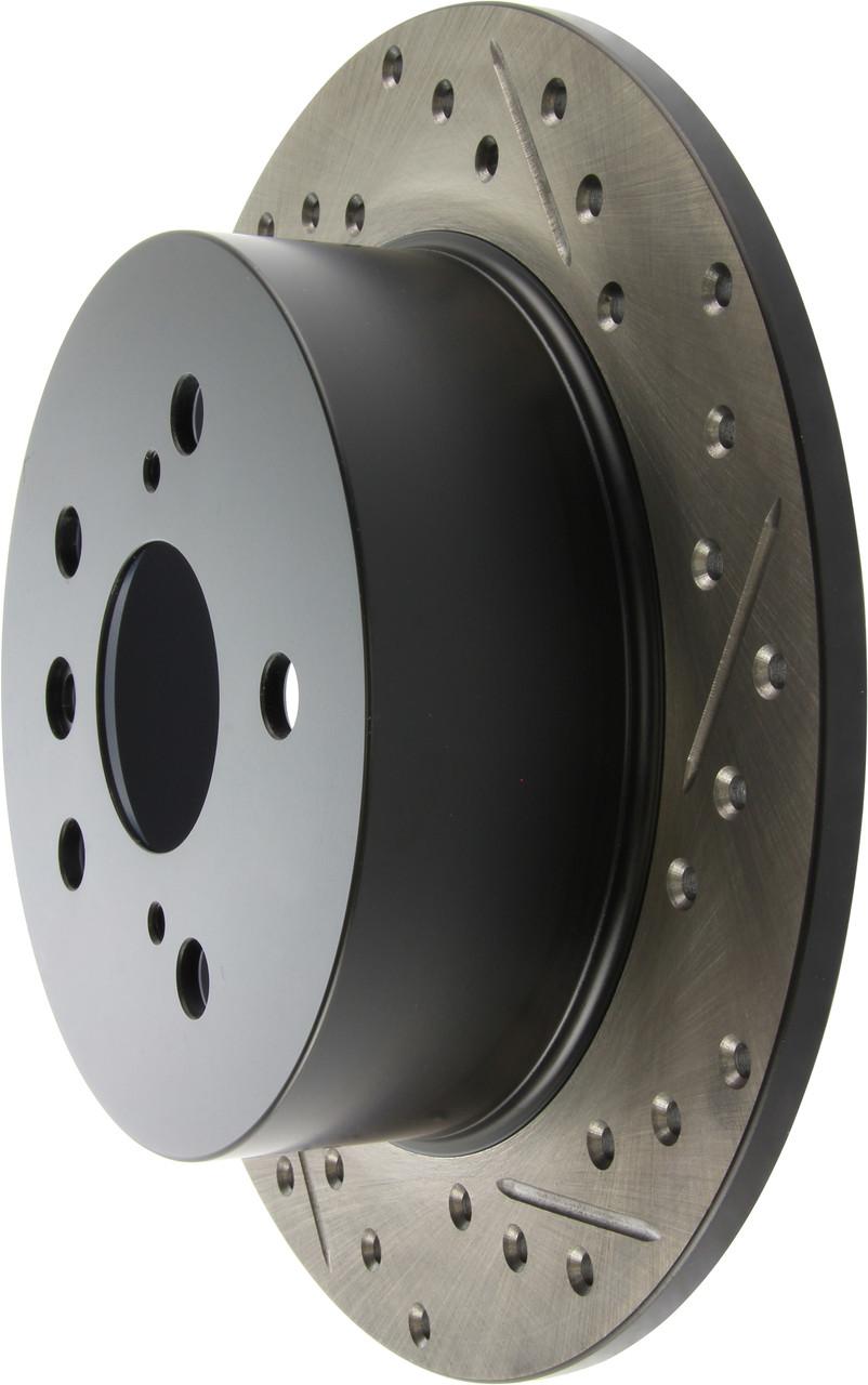 TOYOTA CAMRY 50 - Американка / Тормозной диск с насечками и перфорацией STOPTECH Premium Sport