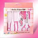 Набор по уходу за новорожденным 6V1 Розовый, фото 2