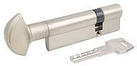 Цилиндр AGB (Италия) Scudo5000/100 мм, ручка-ключ, 45/55, мат,хром