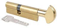 Цилиндр AGB (Италия) Scudo5000/100 мм, ручка-ключ, 50/50, латунь