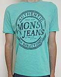 Мужская футболка Mons Jeans красная, зеленая, белая, синяя, серая, фото 3