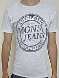 Мужская футболка Mons Jeans красная, зеленая, белая, синяя, серая, фото 5