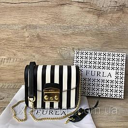 Кожаная сумка Фурла Метрополис