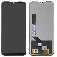 Дисплей для Xiaomi Redmi Note 7, черный, с сенсорным экраном