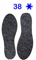 Устілки для взуття Фетр 38