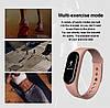 Фитнес браслет Smart Band M5 Mi Band Смарт часы черный., фото 5